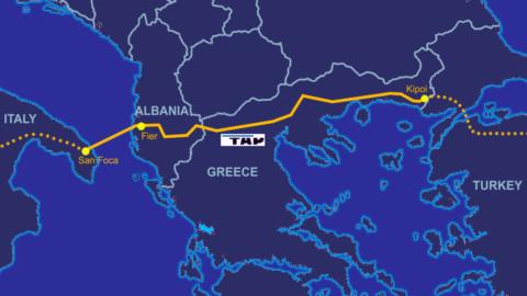 Tap: il gasdotto trans-adriatico entra in funzione