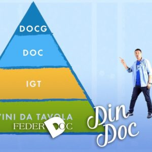 Din-Doc: il vino a denominazione di origine raccontato come un fumetto sui canali Federdoc