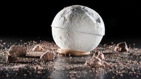 La ricetta di Giulio Terrinoni: Moon blanc di lenticchie