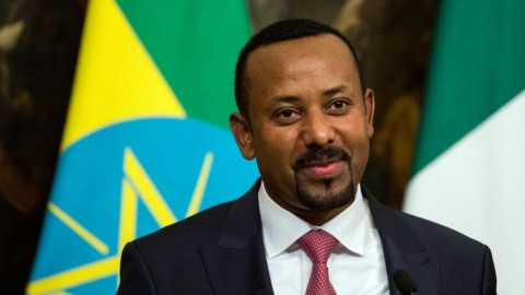 Abyi Ahmed, presidente dell'Etiopia
