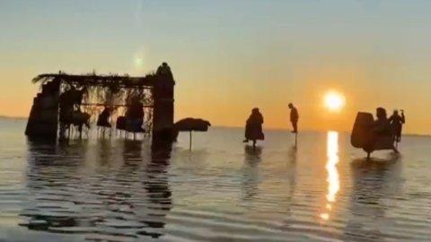 Il più bel presepe del 2020 è nella Laguna di Venezia