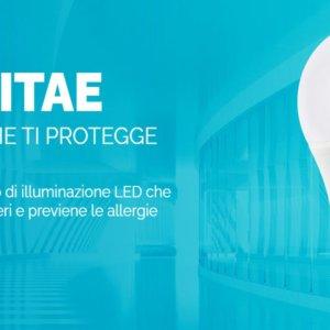 Biovitae, la lampadina che elimina il virus del Covid, presto in vendita