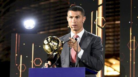Cristiano Ronaldo al Globe Soccer Award