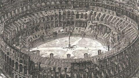 Il Parco archeologico del Colosseo attraverso le vedute del Piranesi: tutto in una app