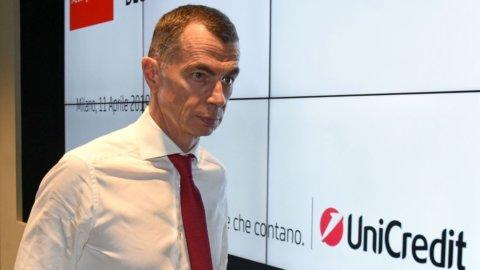 L'addio di Mustier affonda Unicredit in Borsa mentre le altre banche corrono