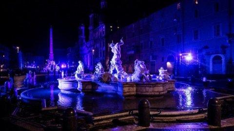 Roma, via alle luminarie natalizie con Acea