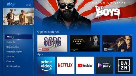 Amazon Prime Video da oggi si vede anche su Sky