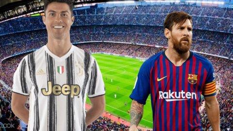 Champions: CR7 all'assalto di Messi, Lazio vicina all'impresa