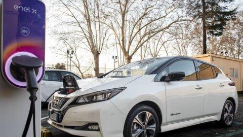 Auto elettrica, Enel e Nissan lanciano E-asy