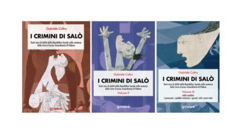 Libri: I crimini di Salò, 20 mesi di delitti della Repubblica sociale italiana