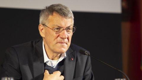 Maurizio Landini segretario CGIL