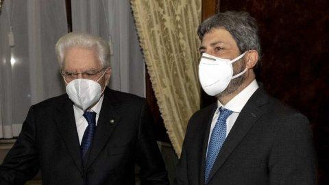 Mattarella: mandato esplorativo a Fico fino a martedì