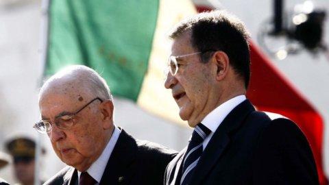Prodi e Napolitano