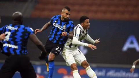 Vidal in Inter Juve