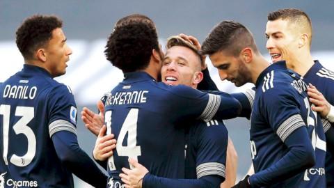 Juve e Lazio tornano in quota, il Napoli va ko