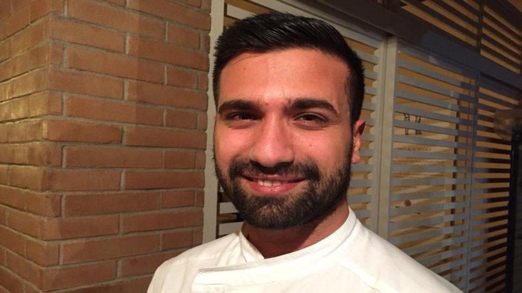 Luca Mastracci pizzaiolo