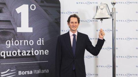 Stellantis, debutto boom in Borsa a Milano e Parigi e domani a Wall Street