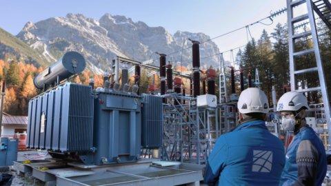 """Mondiali sci, Cortina inaugura la linea elettrica """"invisibile"""""""