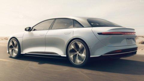 Auto elettrica: Lucid, la nuova Tesla sbarca in Borsa