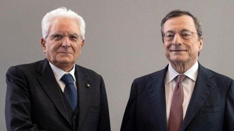 Draghi, in programma 3 grandi riforme: Pa, giustizia, fisco