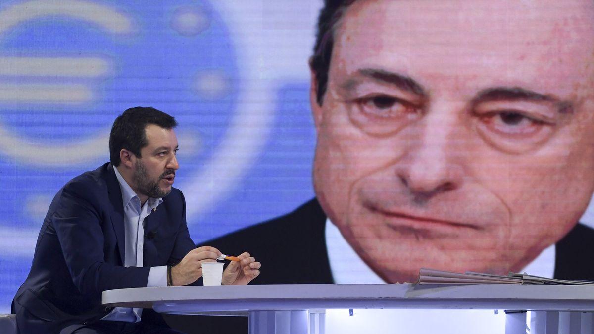 Salvini e Draghi