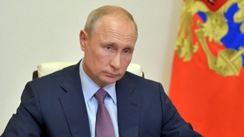 Il presidente russo Valdimir Putin