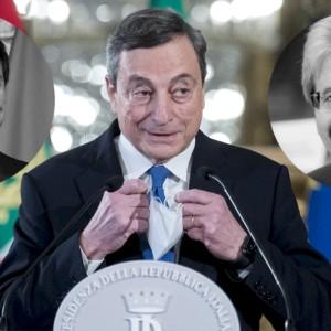 Draghi pensa alla staffetta Conte-Gentiloni, ma c'è il nodo M5S