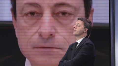 Renzi e Draghi