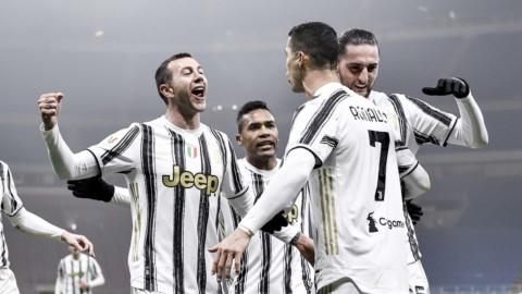 Coppa Italia, rivincita Juve sull'Inter con super CR7