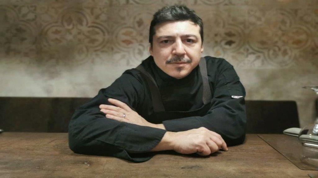 Fabio Fauraz chef ristorante Michielaccio Genova