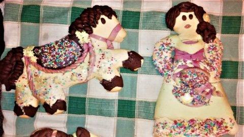 La Pupa e il Cavallo il dolce di Pasqua dei promessi sposi abruzzesi