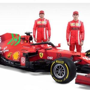 F1: Ferrari, presentata la nuova monoposto