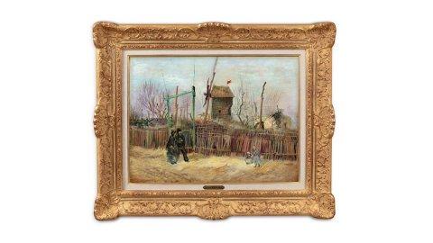 """Sotheby's, la """"Scena di strada"""" di Van Gogh aggiudicata per oltre 13 milioni di euro"""