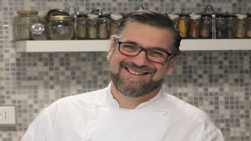 Sergio Maria Teutonico Chef La Palestra del cibo