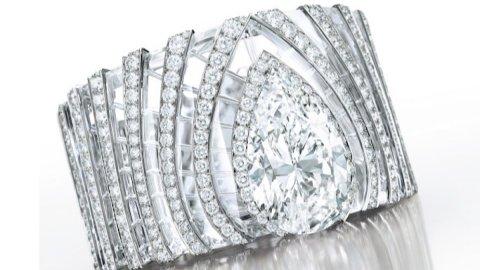 """Asta Sotheby's: bracciali di diamanti  """"L'Odyssée de Cartier"""""""