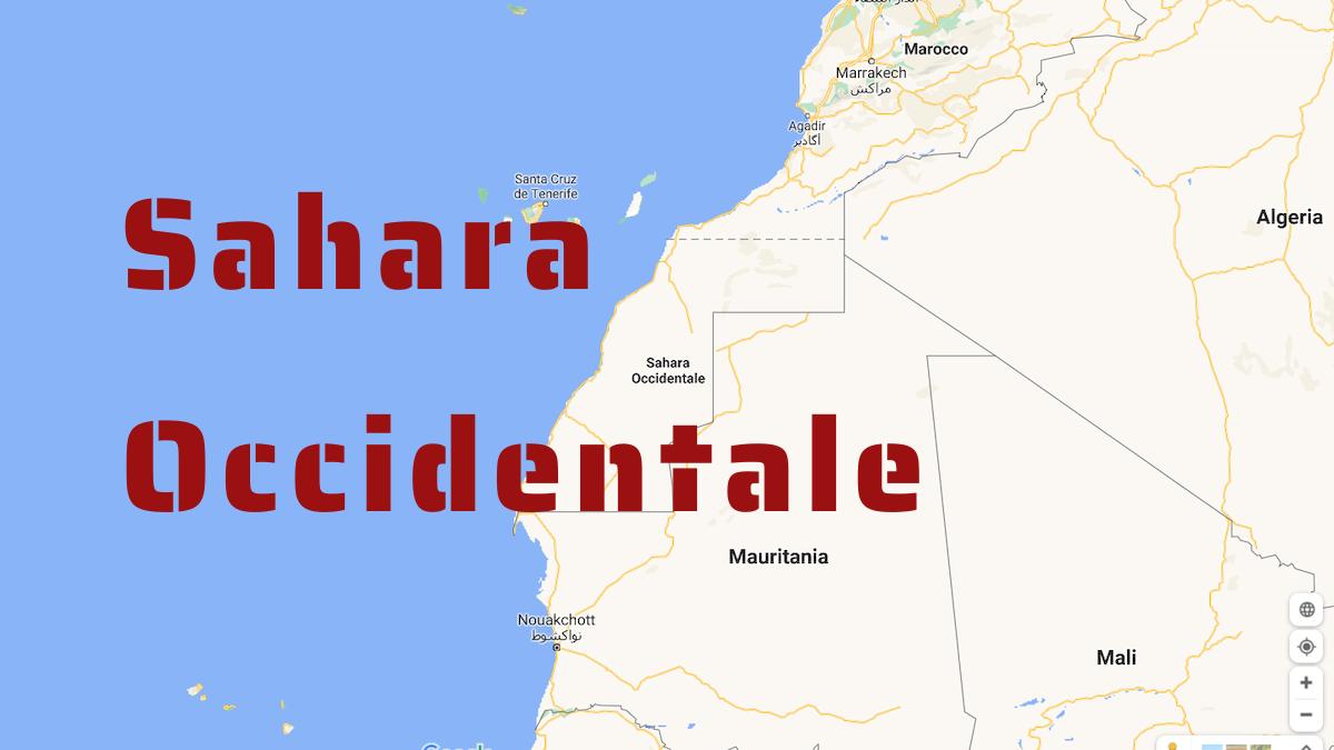 Cartina Politica Del Marocco.Sahara Occidentale Tra Algeria E Marocco La Guerra Si Avvicina Firstonline
