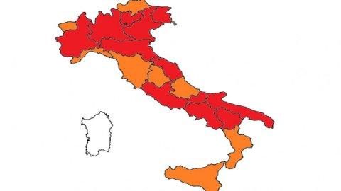 Lombardia, Lazio e mezza Italia in zona rossa: ecco le novità
