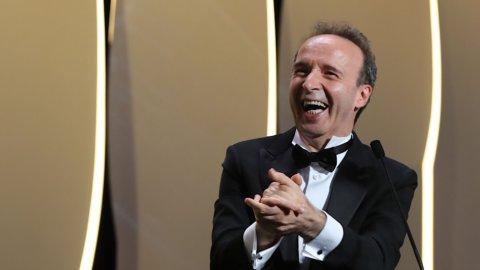 Roberto Benigni,  Leone d'oro alla carriera alla Mostra del Cinema