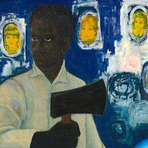 Nat-Shango (Thunder) di Kerry James Marshall in vendita da Christie's New York