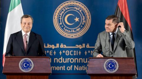 Libia, Draghi e il ritorno dell'Italia per la pace e la ricostruzione