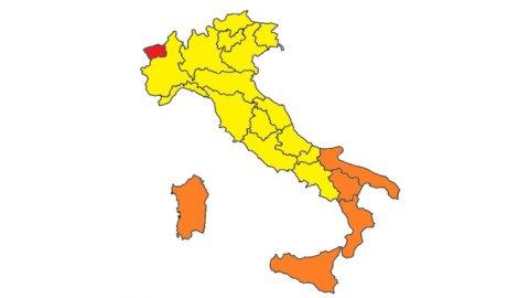 Covid, Regioni: Sardegna torna arancione, solo Val d'Aosta in rosso