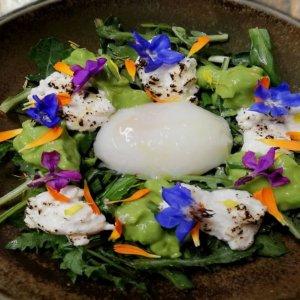 La ricetta dello Chef Marco Lagrimino, un nido di primavera con l'aglio orsino