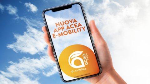 Auto elettrica, Acea lancia la sua app e-mobility