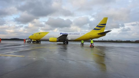 Poste Air Cargo inaugura nuova rotta Roma-Tel Aviv