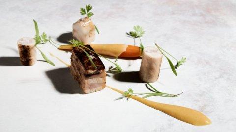 La ricetta del coniglio stellato di Marcello Corrado, un napoletano in Val d'Orcia