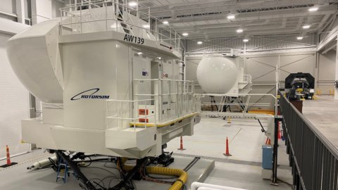 Leonardo inaugura la Training Academy per elicotteri negli USA