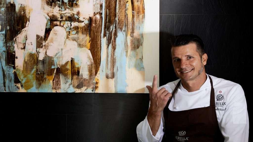 Chef Marcello Corrado ristorante Perillà