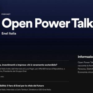 Enel, la comunicazione è podcast: aperto canale Spotify