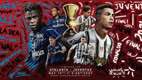 Coppa Italia: Atalanta-Juve, ecco la finale e il pubblico c'è
