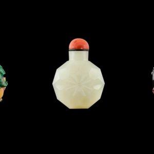 Sotheby's: Bottiglie per tabacco da fiuto come opere d'arte, splendida collezione privata in asta